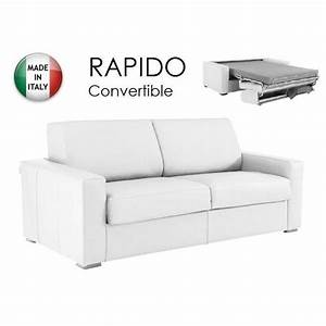 canape convertible rapido 140cm dreamer cuir ec achat With nettoyage tapis avec canape convertible rapido dreamer