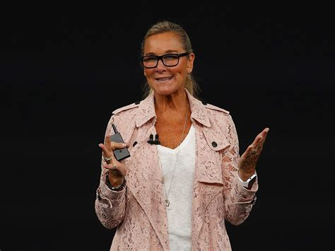 Angela Ahrendts Lace Burberry Trench Coat Costs $,