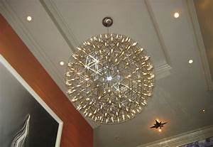 Large Modern Sphere Chandeliers — Home Design Lover : The
