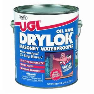 should i drylock basement floor drylok base masonry waterproofer
