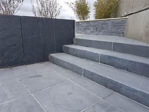 La Pierre Bleue : marche pierre bleue pierre naturelle pierre et parquet ~ Melissatoandfro.com Idées de Décoration
