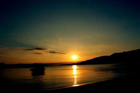 stunning sunset background  stock photo public