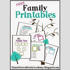 Free Family Printables  Cub Scouts  Family Genealogy, Family Night, Family Theme