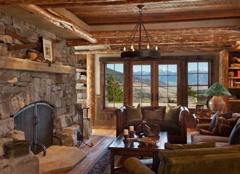rustic home interior rustic interior design by halvorsen architects decoholic