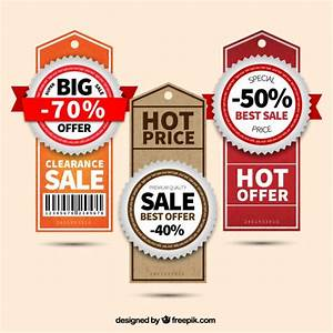 Sale tags Vector | Free Download