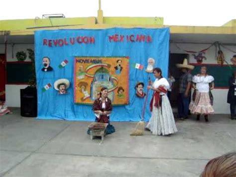 sketch de la revolucion mexicana (jardin de niños asarco ...