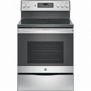 Shop GE Smooth Surface Freestanding 5-Element 5.3-cu ft ...
