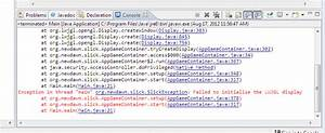 Jar, -, Run, Time, Error, In, Java, Slick2d, Project, While, Using, Appgamecontainer