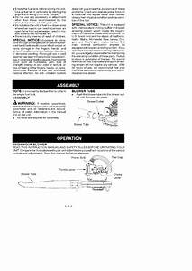 Page 4 Of Weed Eater Blower Fl1500 Le H User Guide