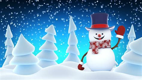 Animated Snowman Footage #page 3