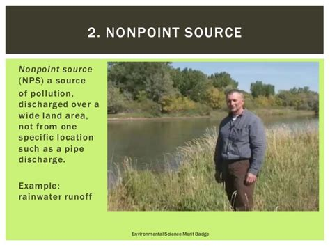 Environmental Science Merit Badge  Requirement 1, 2, 3a