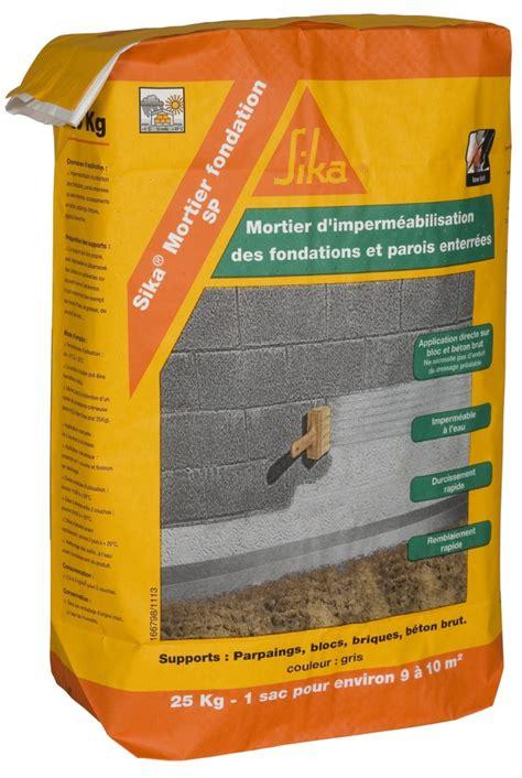 produit hydrofuge pour mur interieur le mortier hydrofuge mat 233 riaux et bricolage