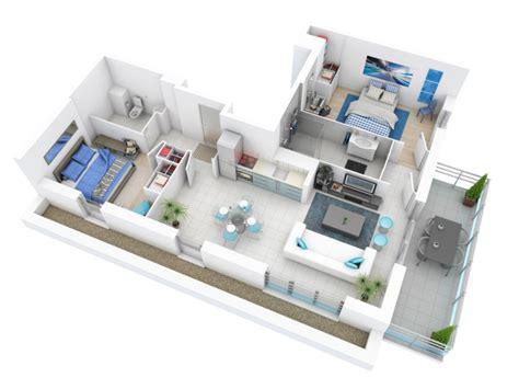 plan maison 3d d appartement 2 pi 232 ces en 60 exemples plans de maison 3d et plans