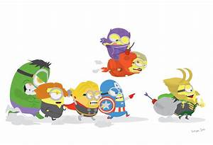 MINIONS+AVENGERS by SuryaSoo on DeviantArt