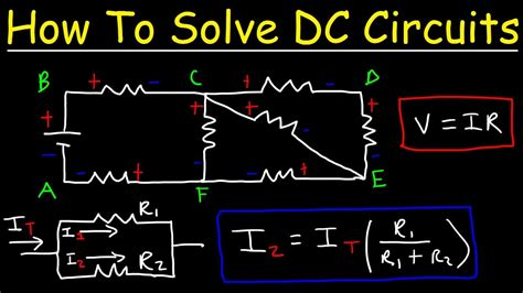 How Solve Any Resistors Series Parallel