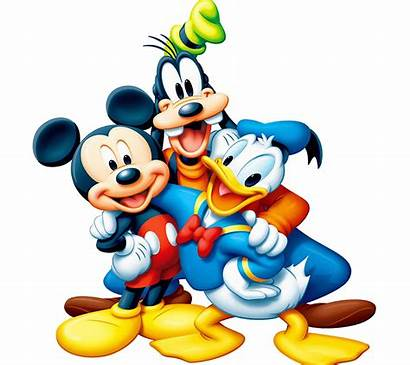 Mickey Mouse Duck Donald Paper Cartoons