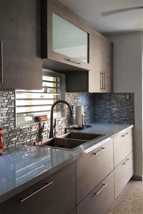 gabinetes de cocina en pvc modernos   la medida
