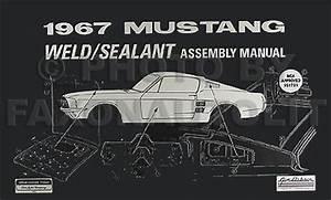 1969 Ford Mustang Wiring Diagram Reprint