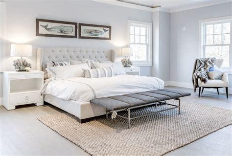 modern beach house master bedroom design ocean blu designs