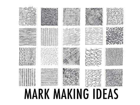 creative mark making ideas