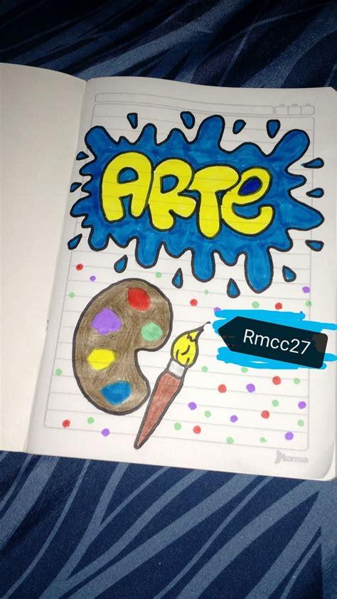 Decoración salones Caratulas para cuadernos escolares