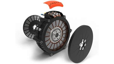 Compact Electric Motor by Magnax High Power Compact Axial Flux Electric Motor