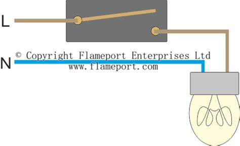 2 Switch 1 Light Diagram by Lighting Circuit Diagrams For 1 2 And 3 Way Switching