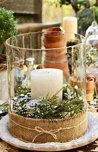 Kerze In Glas : tischdeko zu weihnachten 100 fantastische ideen ~ Sanjose-hotels-ca.com Haus und Dekorationen