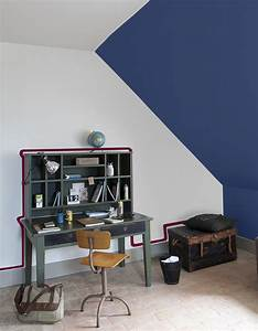 Peinture Murale Couleur : deco chambre peinture murale decoration lzzy co salle bain ~ Melissatoandfro.com Idées de Décoration