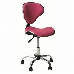 Chaise De Bureau Rose : fauteuil bureau rose fauteuil de bureau haut lepolyglotte ~ Teatrodelosmanantiales.com Idées de Décoration