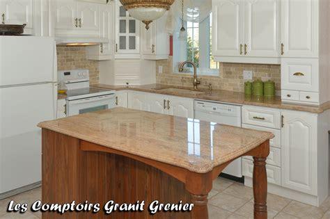 comptoire cuisine comptoir de granit et quartz comptoirs de cuisine en granit