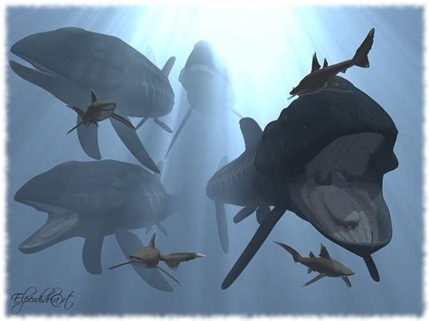 The largest fish to ever swim the oceans has been unearthed in peterborough see more of the leedsichthys project on facebook. Leedsichthys by ~Elperdido1965 on deviantART | animales ...