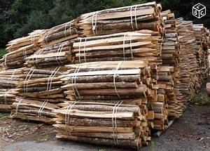 Piquet En Bois Pour Cloture : piquet de cl ture en bois de chataignier rustic french fence posts pinterest cloture bois ~ Farleysfitness.com Idées de Décoration