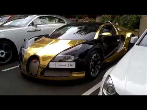 bugatti gold and white black gold bugatti veyron and white lamborghini