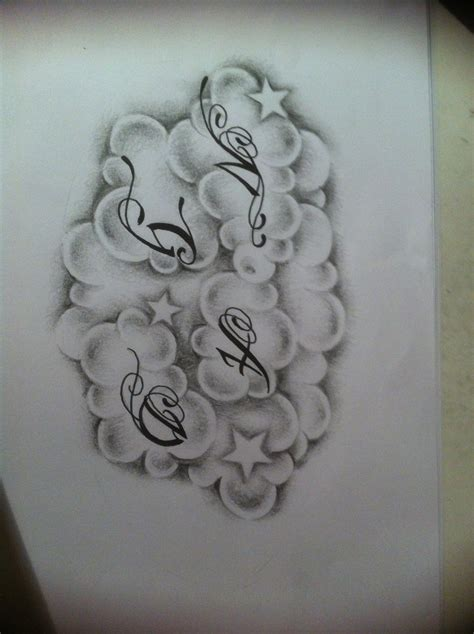 cloud tattoo designs