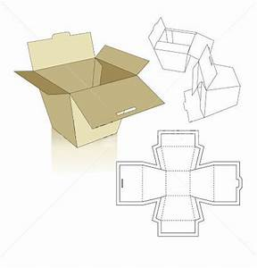 box templates corrugated and folding carton box templates With food packaging design templates