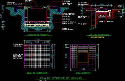 sewer valve chamber box dwg block  autocad designs cad