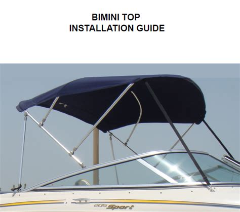 Boat Bimini Top Installation by Bimini Top Installation Images