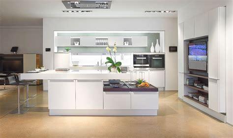 30 Modern White Kitchens That Exemplify Refinement : Modern Kitchens Ideas Enchanting All White