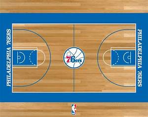 Philadelphia 76ers Basketball Court | NBA | Pinterest ...