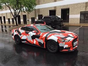 Wrapped Mustang | 2015+ S550 Mustang Forum (GT, EcoBoost, GT350, GT500, Bullitt) - Mustang6G.com