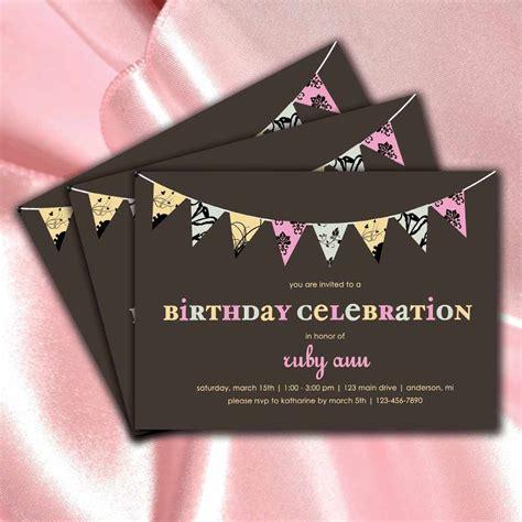 birthday invitations  teenage girls