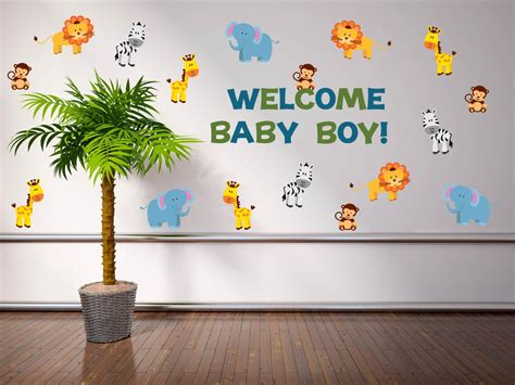 baby shower safari decorations jungle baby shower decorations safari baby shower