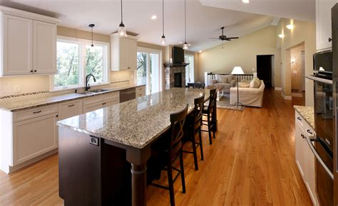 open plan kitchen ideas awesome kitchen living room open floor plan pictures