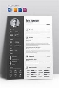 Cv Template Wordpress Free Minimal Creative Cv Resume Template 67714