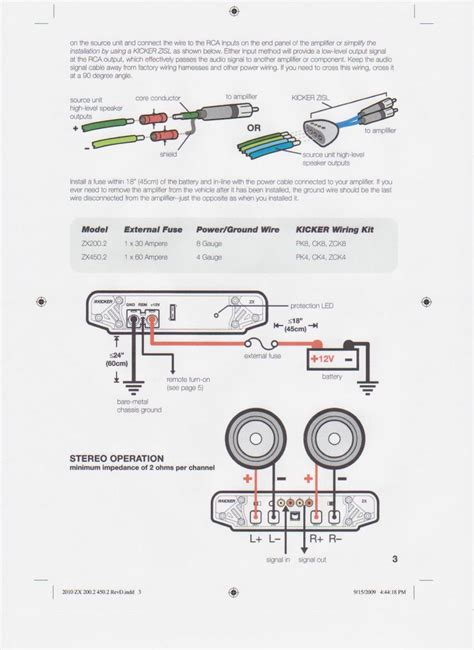 Rockford Fosgate Wiring Diagram Kicker