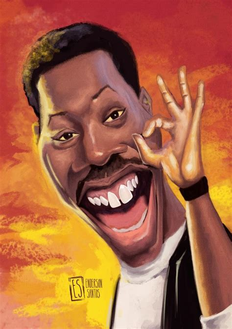axel foley  enderson santos caricaturas celebrity