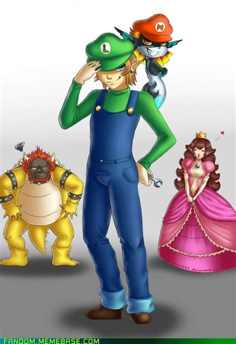 Mario And Zelda Crossover Yeeesss The Legend Of Zelda