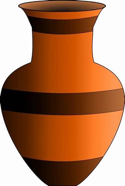 Vase Clipart Flower Pot Clay Vases Clip