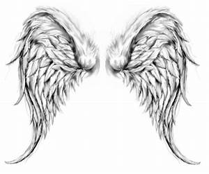 Tattoos Of Angels Wings | Cool Tattoos - Bonbaden | One ...